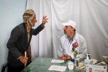4300 زائر در بیمارستان صحرایی همدان ویزیت شدند