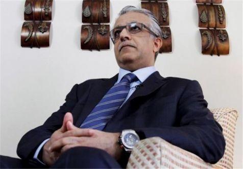 اعتراض مخالفان شیخ سلمان مقابل مقر فیفا + تصاویر