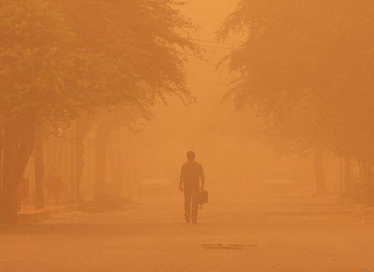 گرد و غبار به 14 استان می رسد