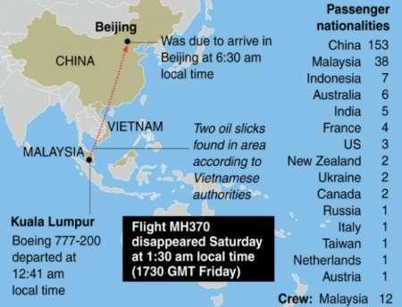 استرالیا: پیدا شدن 2 قطعه هواپیمای ناپدیدشده مالزی