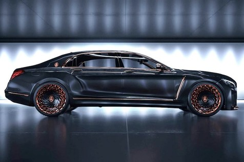 خودروی فوق لوکس ۱.۵ میلیون دلاری Scaldarsi