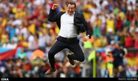 خبر خوب سرمربی بلژیک برای هواداران تیمش