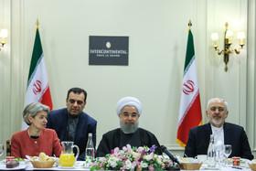 اهدای چهار لوح آثار ثبت شده ایران در فهرست جهانی یونسکو به روحانی