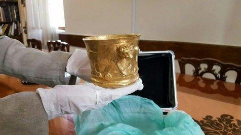 شیر کلاردشت به موزه ملی ایران برگشت