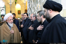 گزارش تصویری/ هفتمین روز درگذشت آیت الله العظمی موسوی اردبیلی(ره) در مسجد اعظم قم