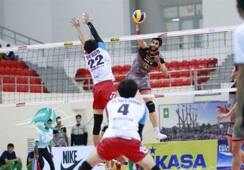 بانک سرمایه قهرمان والیبال قهرمانی باشگاههای آسیا شد