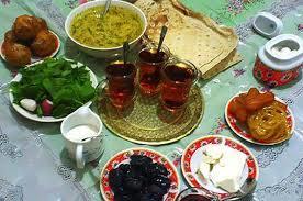 ماه رمضان فرصت استفاده از رژیم های غذایی مناسب