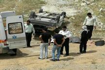 واژگونی سواری پراید در جاده مورموری - دهلران یک کشته برجا گذاشت