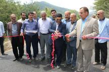 افتتاح و کلنگ زنی هفت طرح عمران روستائی در شهرستان نکا