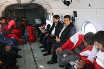 10 تیم هلال احمر کرمان مناطق زلزله زده را ارزیابی کردند