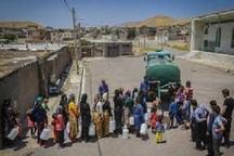 منابع تامین آب شرب روستای امیرآباد کیار خشک شد  شروع آبرسانی سیار