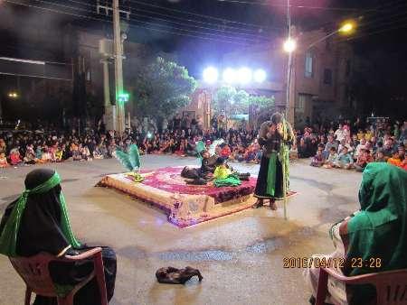 تعزیه خوانی در شاهرود، در10 شب آخر ماه رمضان