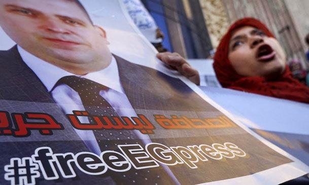 مصر یکی از بزرگترین زندان های جهان برای خبرنگاران