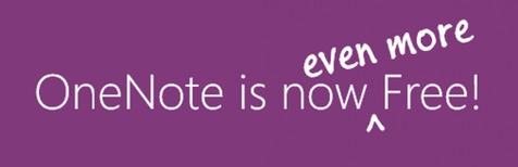 مایکروسافت سرویس OneNote را رایگان اعلام کرد