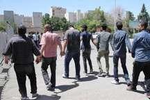 دستگیری 21 سارق حرفه ای و کشف 19 فقره سرقت در دهلران
