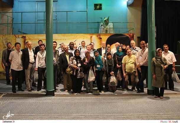 جمعی از پژوهشگران و نخبه های علمی از حسینیه جماران دیدن کردند