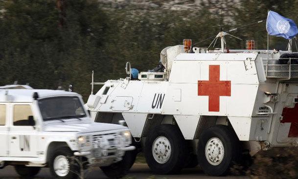 عکس روز/ حمله وحشیانه به نیروهای حافظ صلح