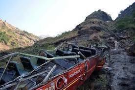 15 کشته بر اثر سقوط اتوبوس به دره چالوس