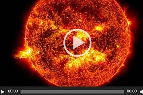 تایم لپسی از ۵ سال فعالیت دیده نشده خورشیدی