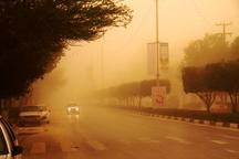توده گرد و غبار همچنان در ایلام فعال است