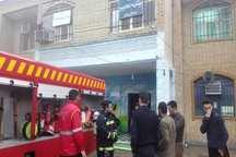 آتش سوزی در یکی از مدارس خرمشهر مهار شد