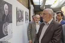 نمایشگاه همکاری ایران و سازمان ملل درشیراز گشایش یافت