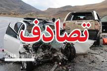 مصدومیت 10 نفر در تصادف زنجیرهای در محور تبریز به اهر