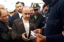 حاشیه های سفر چند ساعته وزیر ورزش و جوانان به شادگان