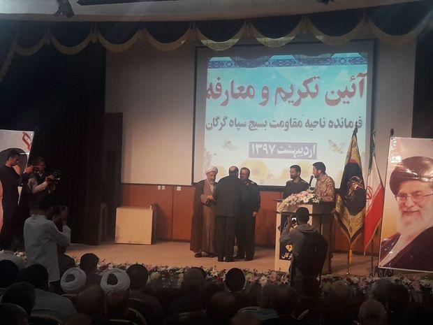 فرمانده سپاه شهرستان گرگان معرفی شد