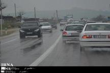 جاده کرج -چالوس لغزنده است