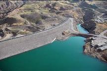 70 درصد آب سد طالقان به قزوین تعلق دارد