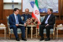 جهانگیری: ایران در دوران بازسازی سوریه درکنار دولت و مردم این کشور خواهد بود/ سفیر سوریه در ایران: دولت سوریه از مشارکت بخش خصوصی ایران در بازسازی سوریه استقبال میکند