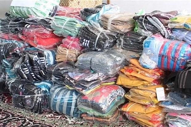275 ثوب لباس قاچاق در ماکو کشف شد