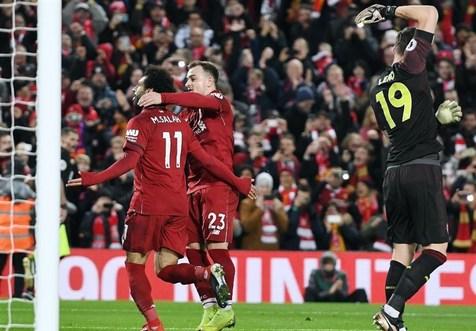 برد لیورپول مقابل یاران جهانبخش در لیگ برتر انگلیس