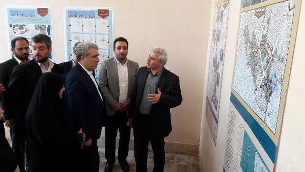 بازدید معاون رئیس جمهوری از بافت تاریخی و موزه در حال ساخت شهر جهانی یزد