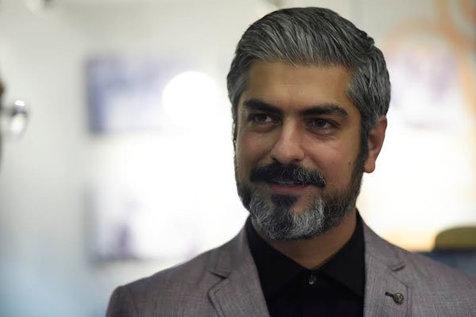 مهدی پاکدل داغدار شد/ عکس
