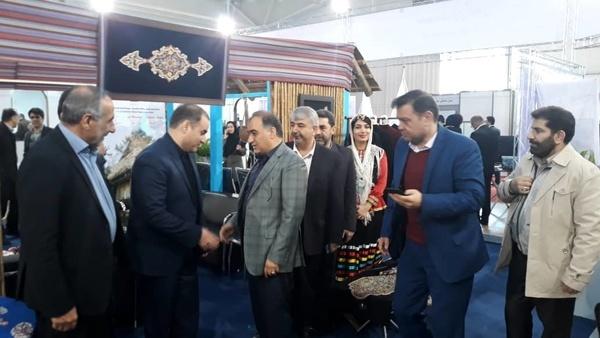 غرفه گیلان میزبان بازدیدکنندگان نمایشگاه گردشگری و صنایع وابسته