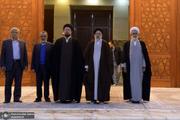 حضور رئیس جدید قوه قضائیه در حرم امام