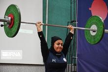 وزنهبردار زن کهگیلویه و بویراحمد عازم رقابتهای جهانی میشود