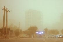 گرد و خاک عراقی خوزستان را فرا می گیرد