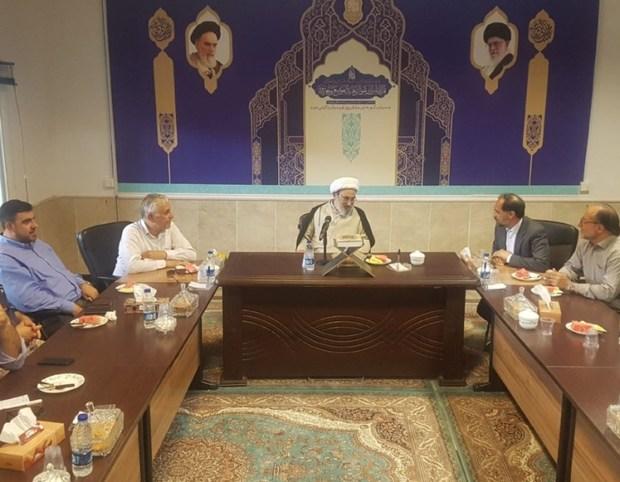 مسئولان قم و نبطیه لبنان خواستار گسترش همکاریها شدند