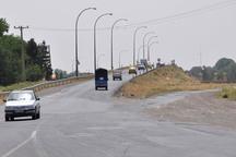 ساخت پل شرکت نفت قزوین طولانی شده است