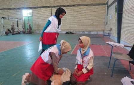 آغاز المپیاد مهارت های امدادی دانش آموزان چهار شهرستان فارس در کازرون