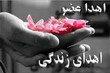 اهدای اعضای مادری از اهالی دزک