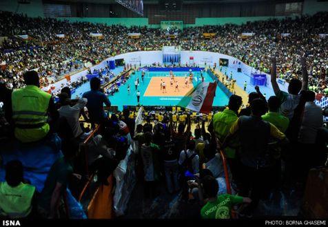 چهارمین برد والیبالیستهای ایران مقابل تایلند
