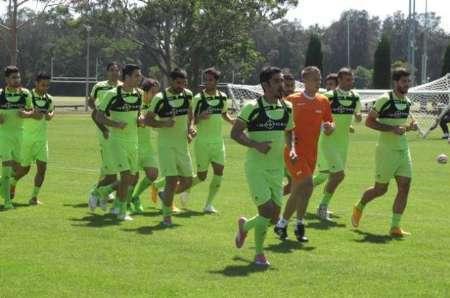 دومین تمرین تیم ملی ایران در سیدنی + تصاویر