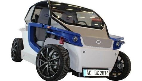خودروی الکتریکی چاپی!