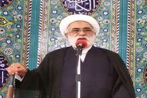 قدردانی امام جمعه تفت از حضور مردم در آیین تشییع پیکر 6شهید گمنام