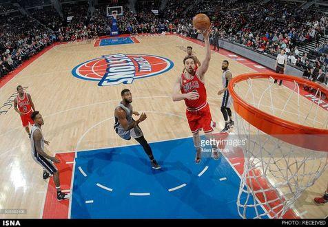 پیروزی تریل بلیزرز در لیگ NBA