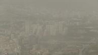 تهران در غبار